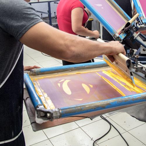 Impresión 3D Serigrafía