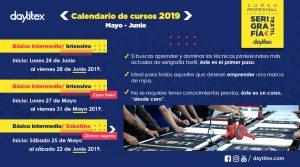 Curso Profesional de Serigrafía Textil Mayo – Junio 2019